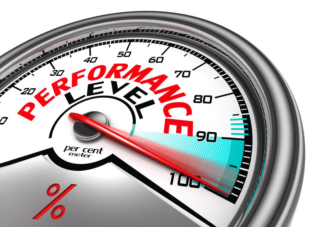 Image of performance meter