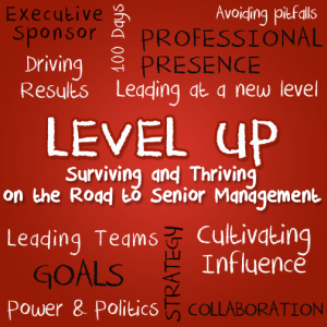 levelup 1�congratulations on your promotion now what